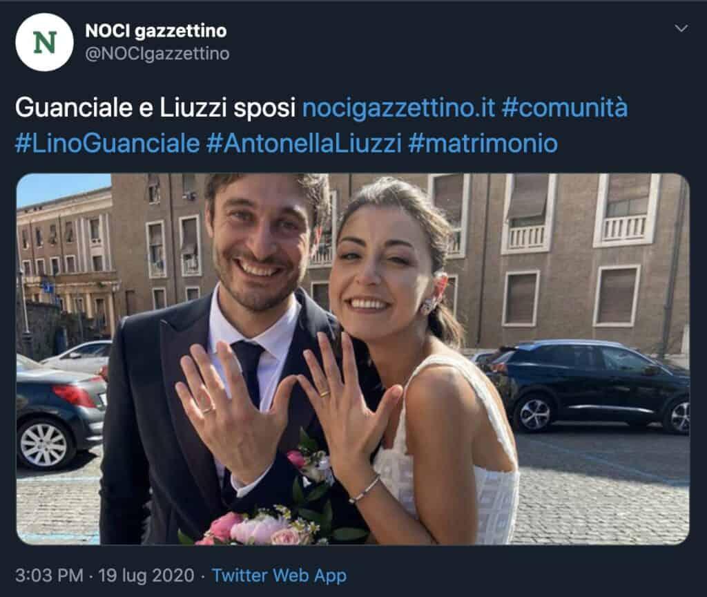 Le nozze a sorpresa di Lino Guanciale
