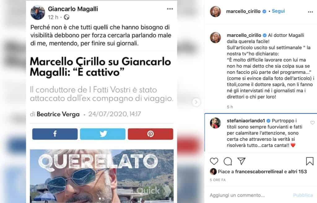 Il post di Marcello Cirillo