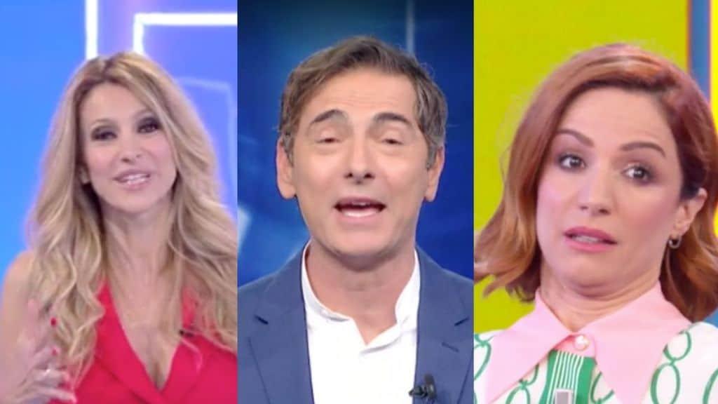 Adriana Volpe, Marco Liorni, Andrea Delogu