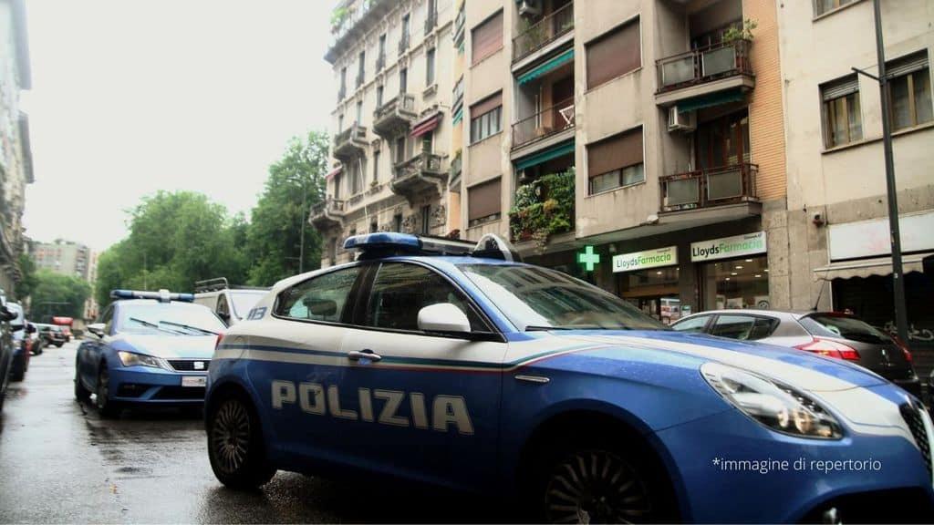 volanti della polizia