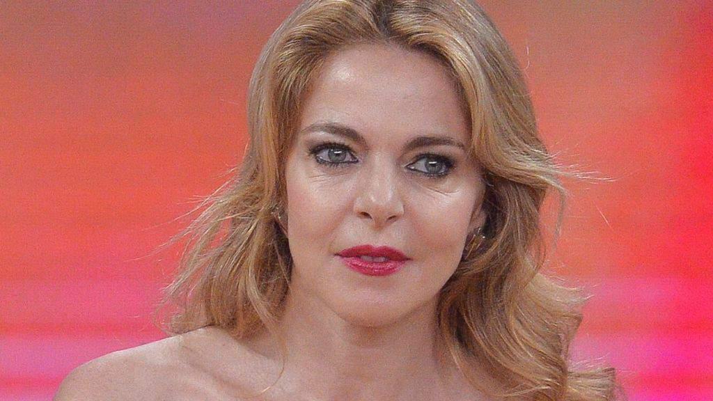Claudia Gerini in primo piano