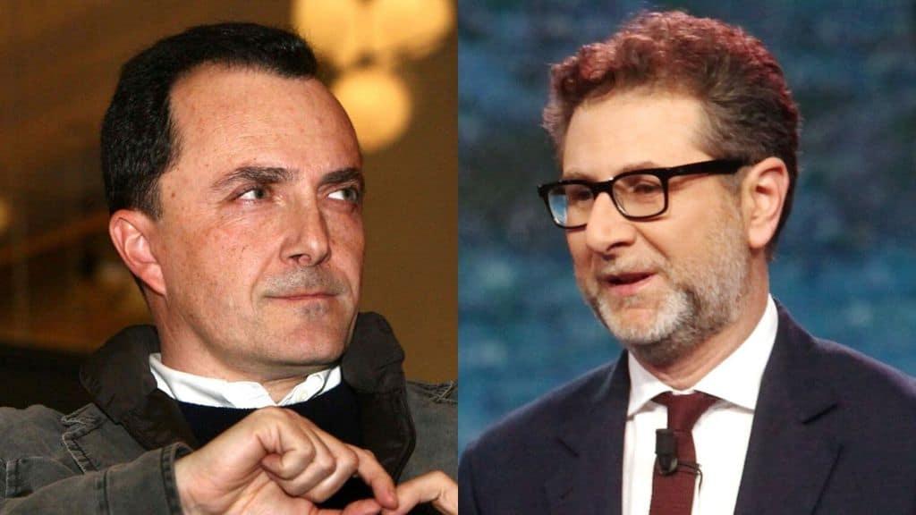 Daniele Luttazzi e Fabio Fazio