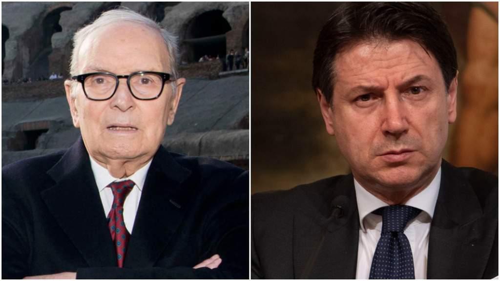 Ennio Morricone e Giuseppe Conte