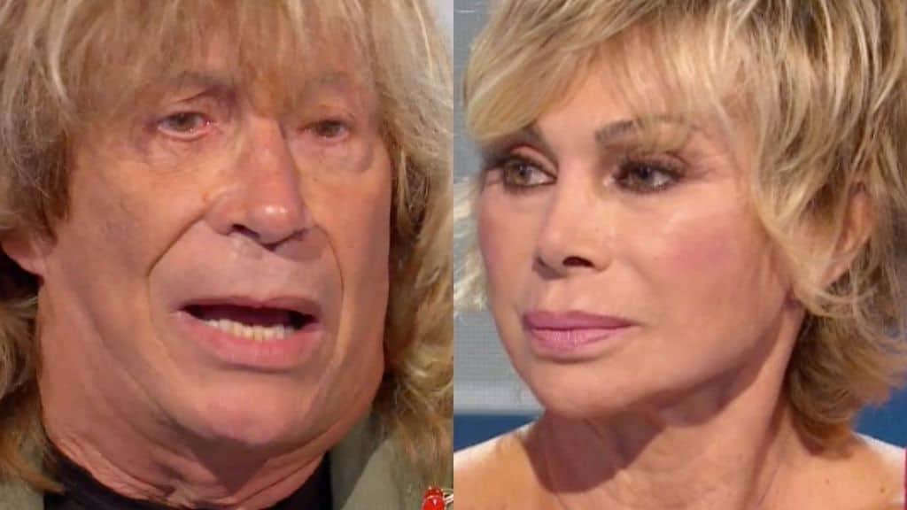 Enzo Paolo Turchi e Carmen Russo