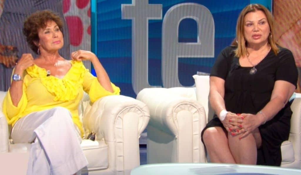 Corinne Cléry e Serena Grandi