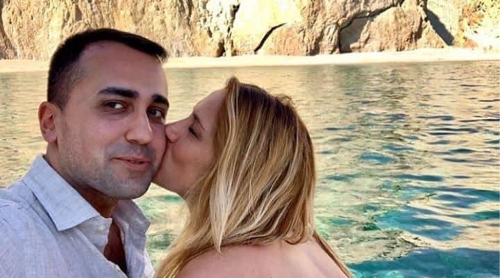 Luigi Di Maio e la fidanzata Virginia Saba