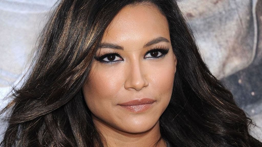 Naya Rivera in primo piano sul red carpeta