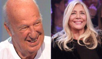 Nicola Carraro e Mara Venier