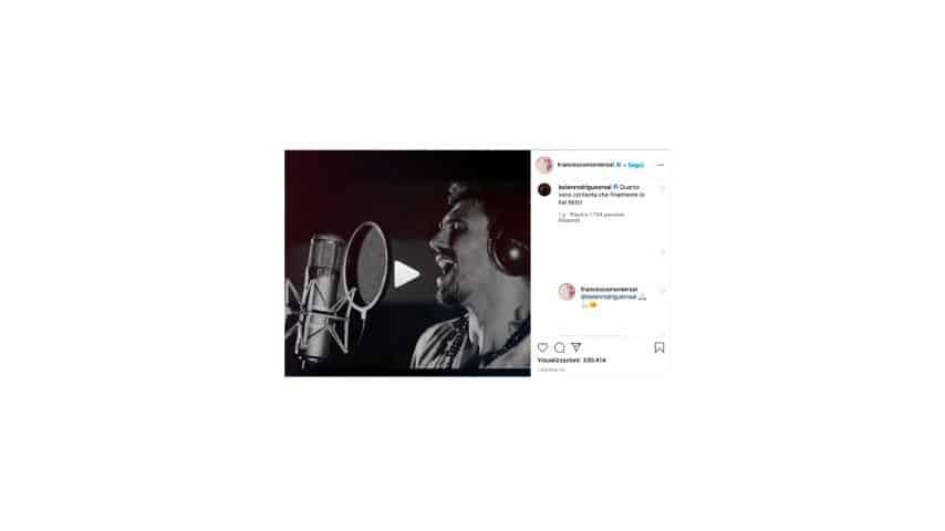 Il post di Francesco Monte su Instagram