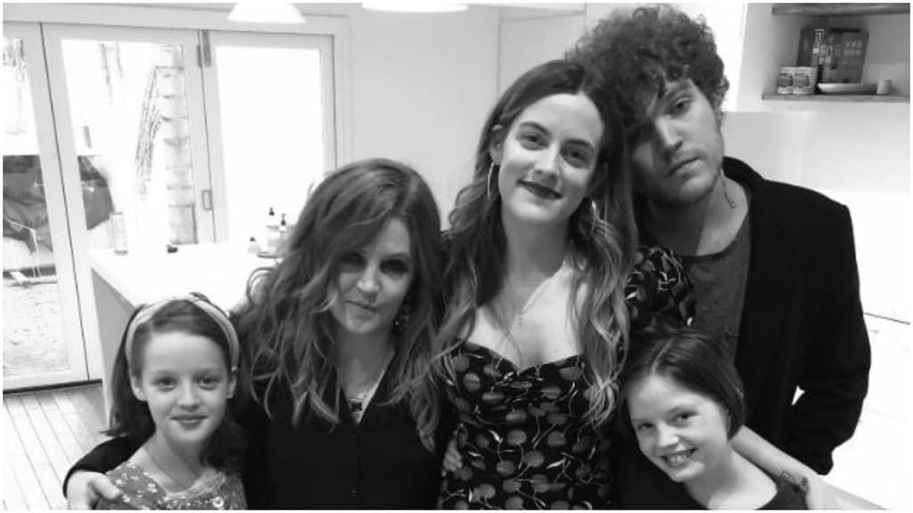 Lisa Marie Presley e i figli