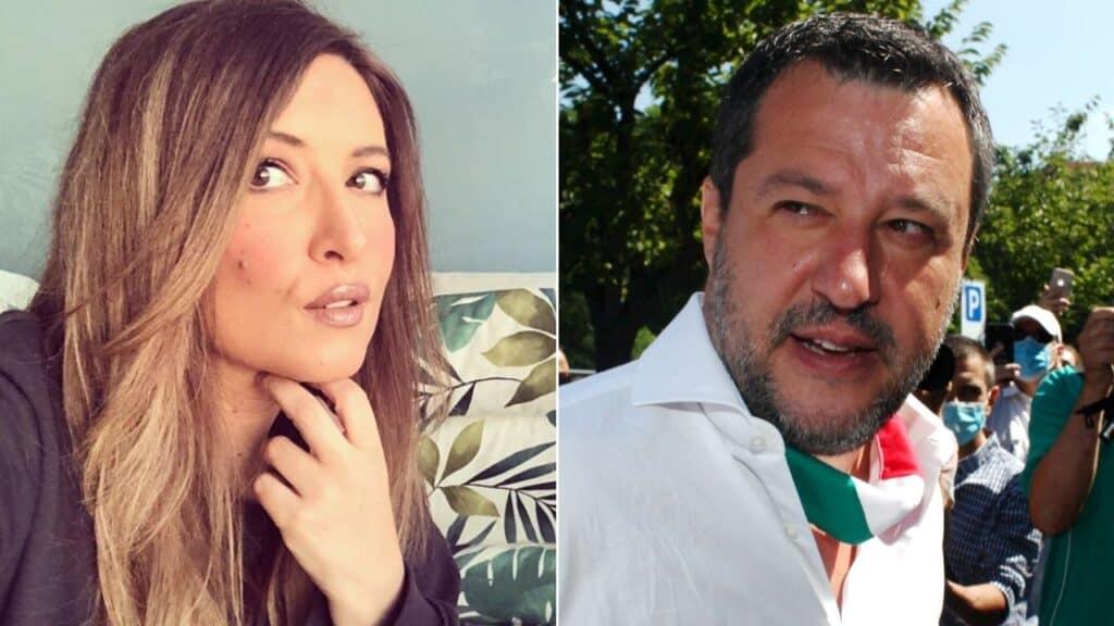 Selvaggia Lucarelli, il figlio contesta Salvini: identificat