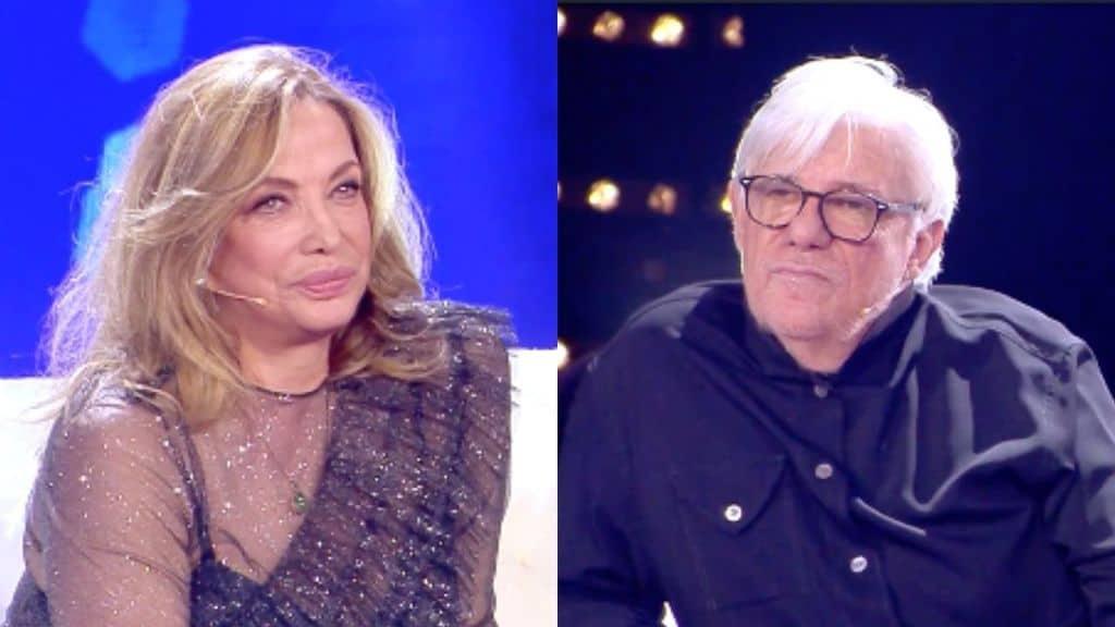 Simona Izzo e Ricky Tognazzi a Live non è la d'urso