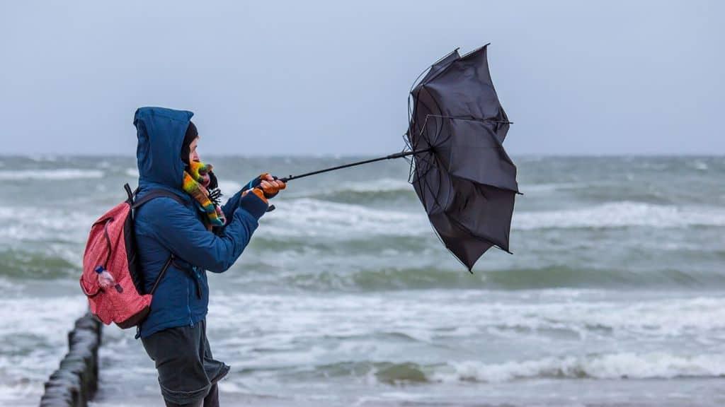 spiaggia ombrello