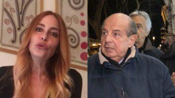 Stefania Orlando e Giancarlo Magalli