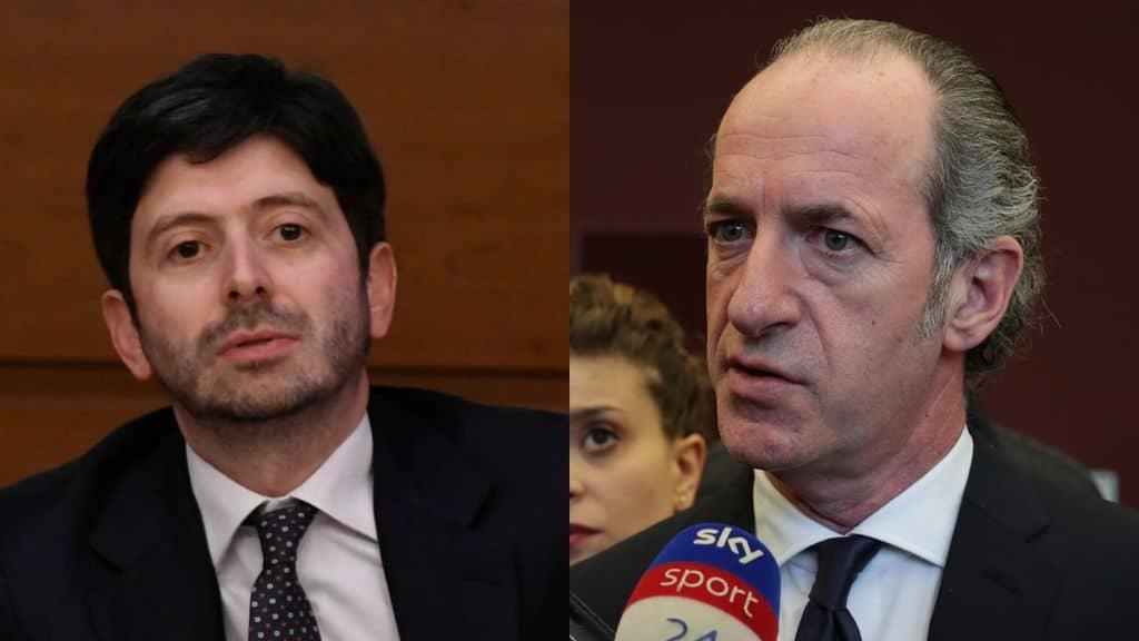 Dopo il caso del manager in Veneto, il ministro Speranza valuta proposta di Zaia su Tso per malati coronavirus
