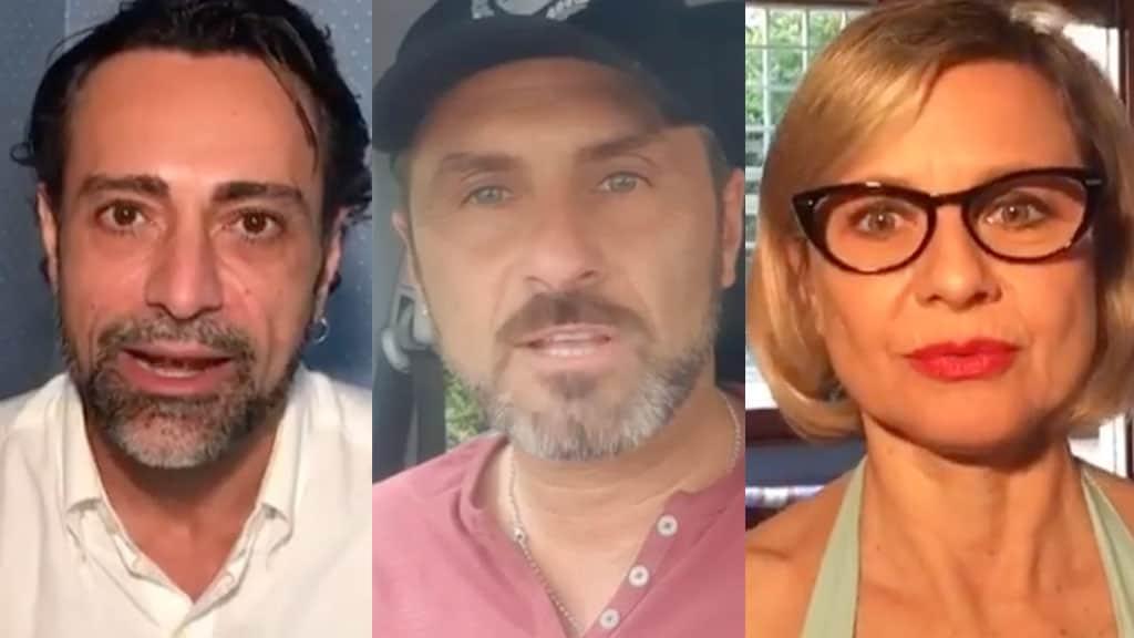 Pietro Delle Piane, Sossio Aruta e Antonella Elia