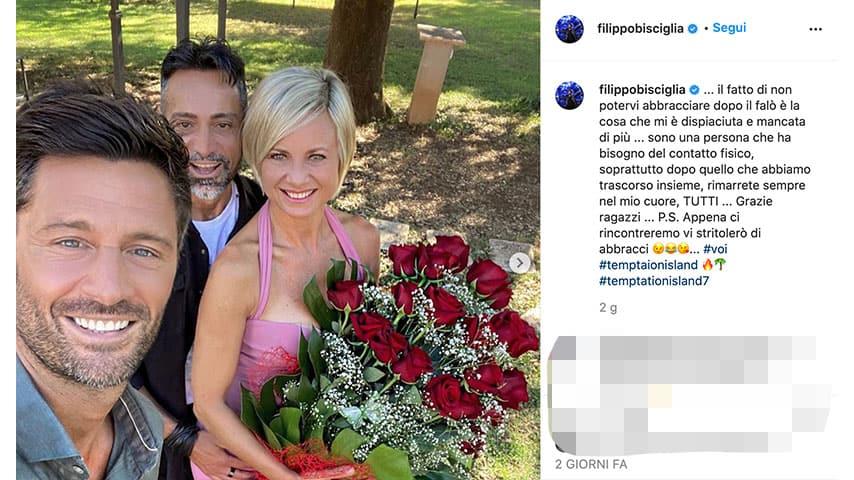 Post di Filippo Bisciglia su Instagram