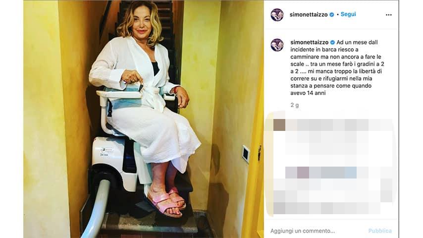 Post di Simona Izzo su Instagram