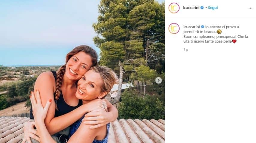 Lorella Cuccarini, il messaggio di auguri alla figlia Sara
