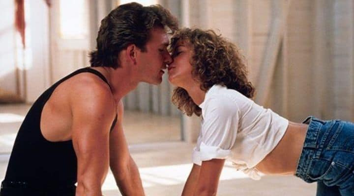Patrick Swayze e Jennifer Grey in Dirty Dancing