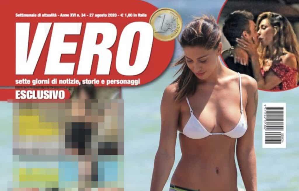 La copertina di Vero su Belén Rodriguez