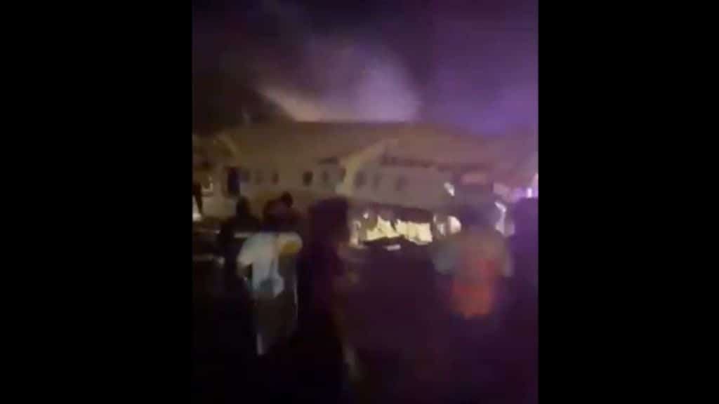 aereo precipitato in india