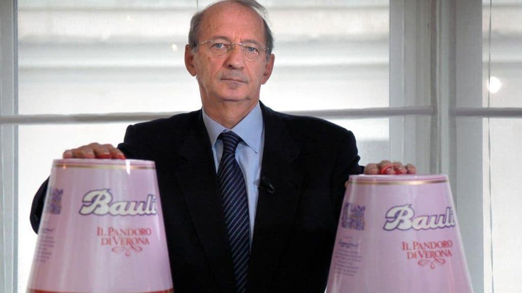 Alberto Bauli, presidente della Bauli