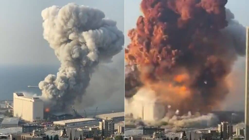 Libano, esplosione a Beirut: coinvolti anche dei militari italiani