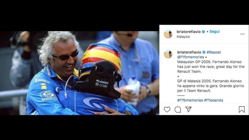 Briatore e Alonso