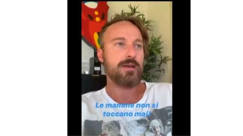 Francesco Facchinetti nelle ig stories