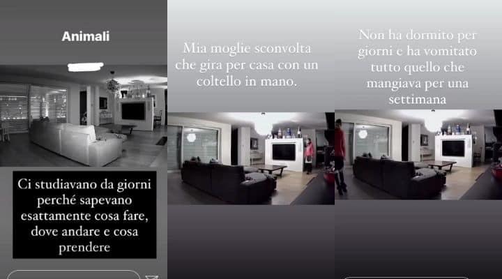 Storie di Francesco Facchinetti sui ladri in casa sua