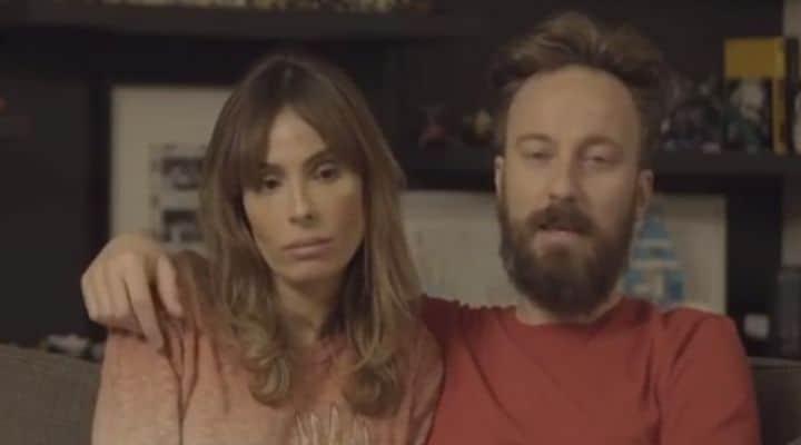 Francesco Facchinetti e Wilma Faissol