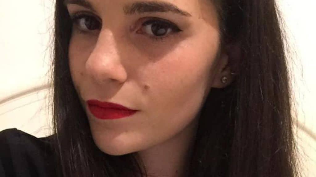 Primo piano di Lorenza Famularo, 22enne morta a Lipari