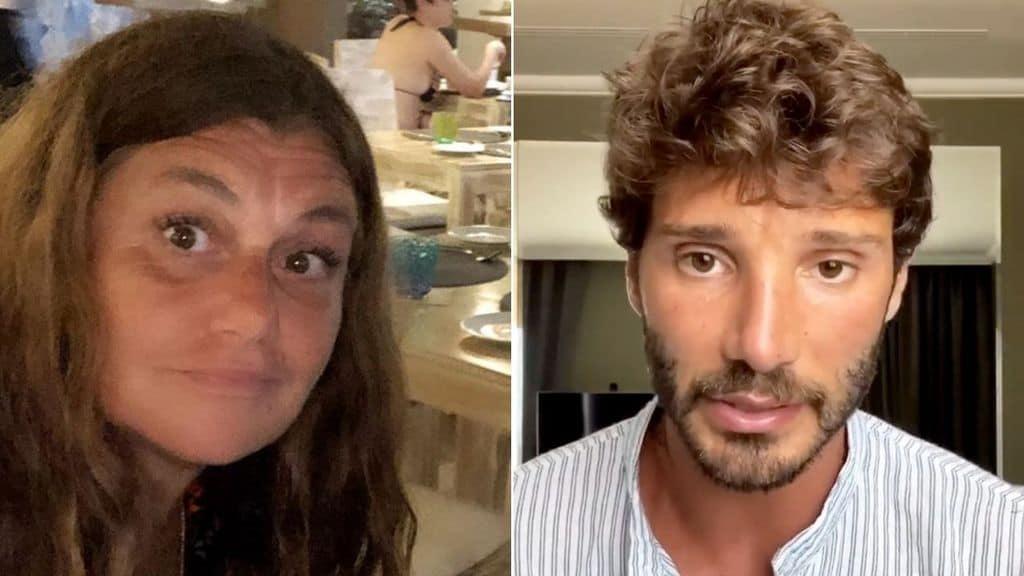 La madre di Belen Rodriguez e Stefano De Martino