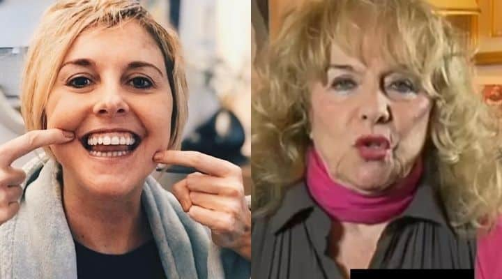 Nadia Toffa e la madre Margherita