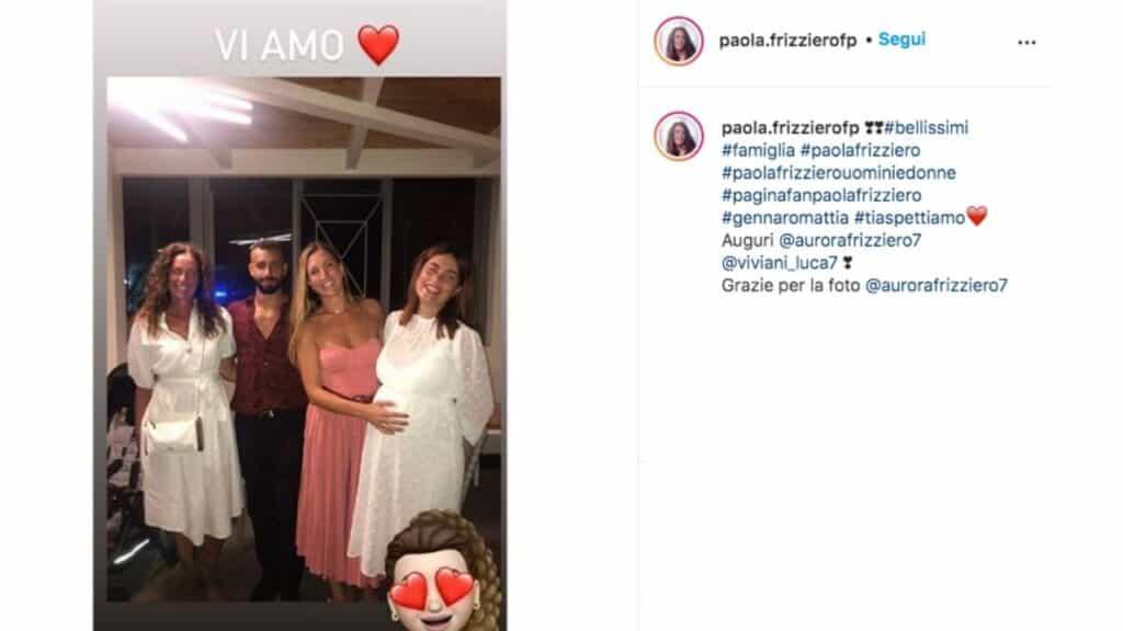 Paola Frizziero incinta