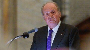 Il Re emerito di Spagna Juan Carlos