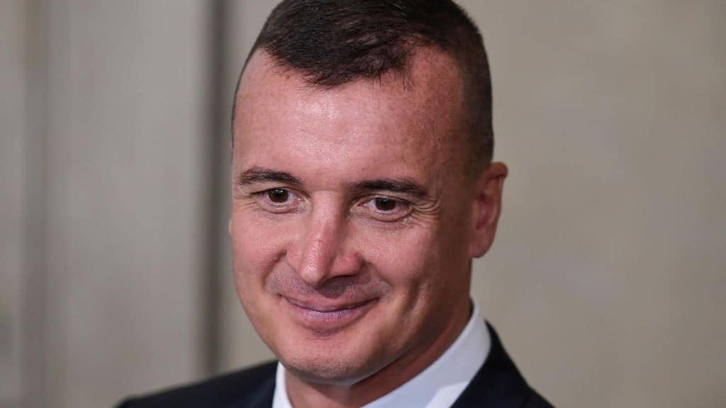 Il portavoce di Conte, Rocco Casalino