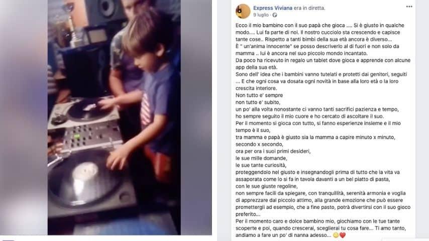 Un post di Viviana Parisi dedicato al figlio Gioele