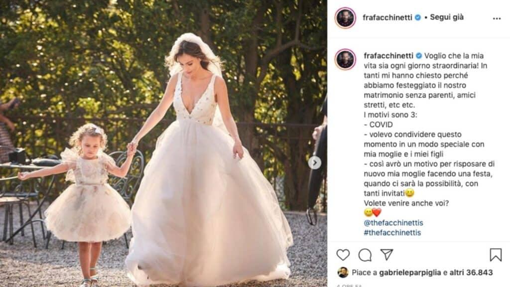 Wilma faissol sposa