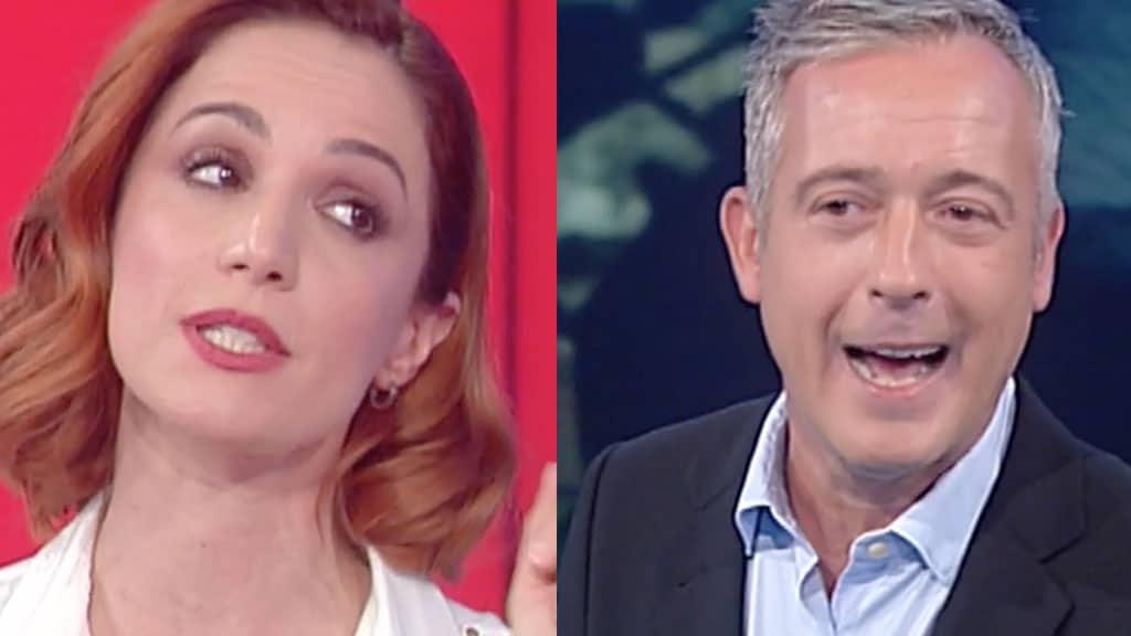 Andrea Delogu e Pierluigi Diaco