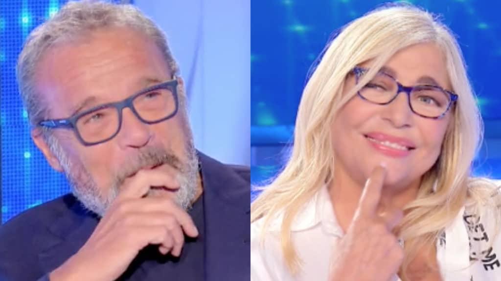 Claudio Amendola e Mara Venier