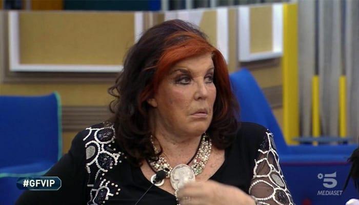 Patrizia De Blanck nella casa del Grande Fratello VIP