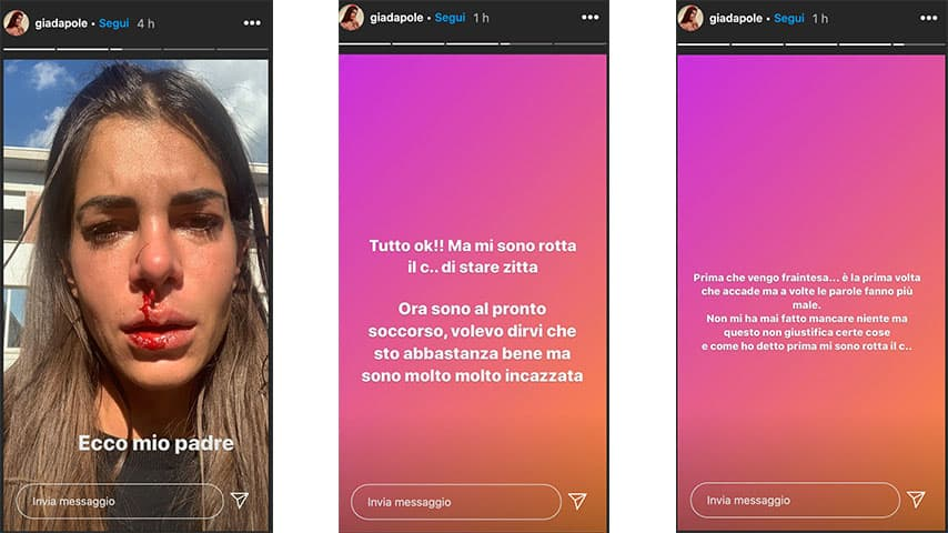 Instagram Stories di Giada Giovanelli