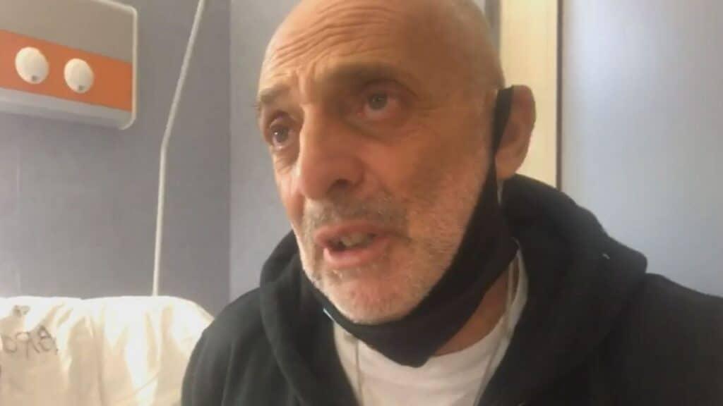 Paolo Brosio, arriva l'esito del tampone: il video dell'annuncio