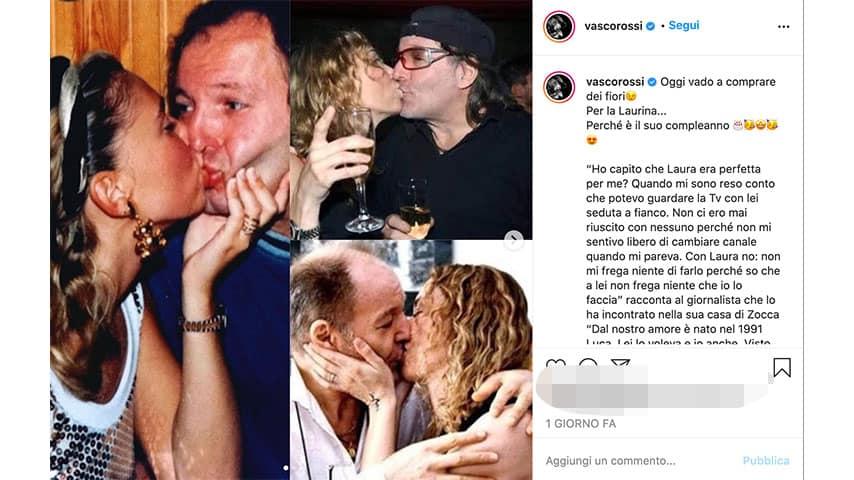 Post di Vasco Rossi su Instagram