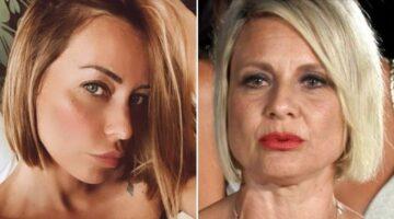Karina Cascella e Antonella Elia primi piani