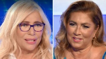 Mara Venier e Romina Power a Domenica In
