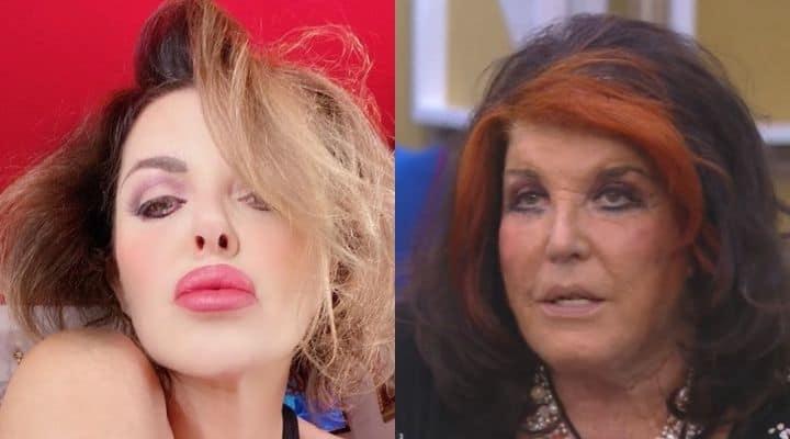 Alba Parietti e Patrizia De Blanck