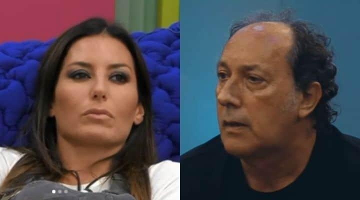 Fulvio Abbate contro Elisabetta Gregoraci al GF Vip